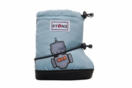 Stonz Toddler Booties (str M og L)- Robot
